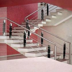 Stainless Steel Staircase Handrails   Chemi Plant Fabrication, Chennai |  ID: 8449366697