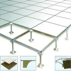 PVC False Flooring Service, For Outdoor, Waterproof