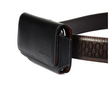 Black Albatross Manufacturer of Leather Mobile Belt Cover with Logo