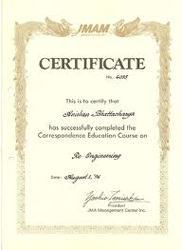 Certification of Chartered Engineer Services