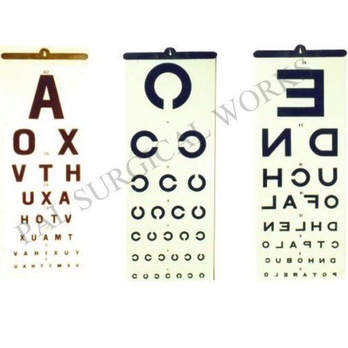 Eye Charts Regular At Rs 600 Piece Vision Chart Id 8572497848