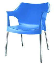Without Hand Rest (Without Arms) Novella Plastic Chairs, Weight: 5-7 Kg