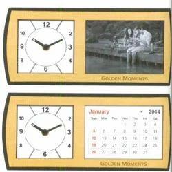Crystal Clock Photo Frame