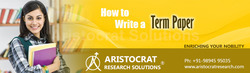 Journal Writing / Editing and Formatting Services