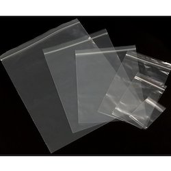 Double sealed LDPE Ziplock Bag