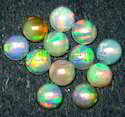 Ethiopian Welo Opal Round Cabochon