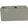 Gray Normal Weight Concrete Block