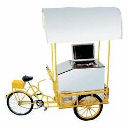Ice Cream Cart Freezer