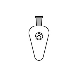Pear Shape Short Neck Flasks, for Chemical Laboratory