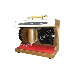 Auto Shoe Polish Machine
