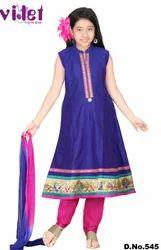 Kids Long Anarkali Suits