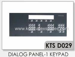 Dornier Dialog Panel-I Membrane Keypad