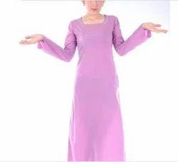 Pink Abaya Dress