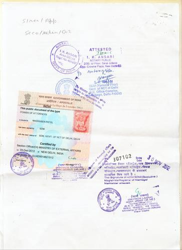 affidavit for birth certificate india