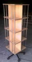 Revolving Book Stand For Library