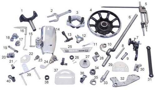 Sewing Machine Parts View Specifications Details Of Sewing Unique The Parts Of A Sewing Machine