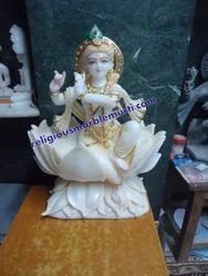 Lotus Krishna Statue