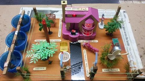 Eco House Green Solution 3 In 1 Model For Science