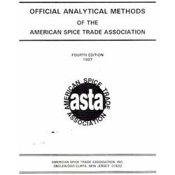 Official Analytical Methods