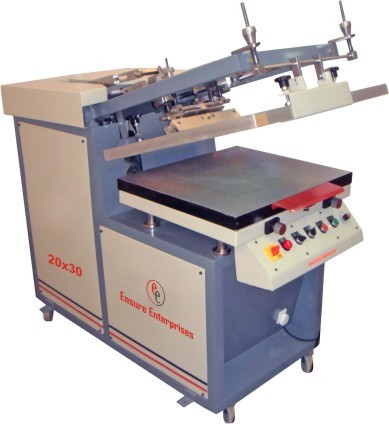 Semi auto flat screen printing machine at rs 130000 piece flat semi auto flat screen printing machine reheart Images