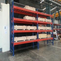 Heavy Duty Pallet with Shelving Racks