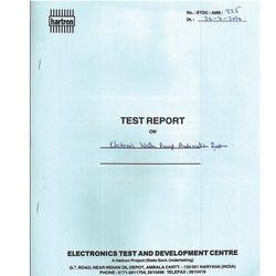 Govt. Lab Report - Electronic Testing & Development Centre Report