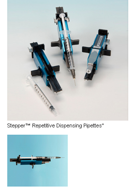 Stepper Series Repetitive Dispensing Pipettes