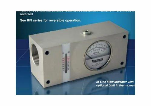 High Pressure Flow Indicator