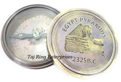 Egypt Pyramids 2325 B.C. Brass Compass