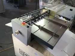 Manual Creasing, Perforation, Sticker Cutting Machine
