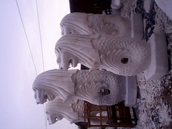 Marble Marlion Statue