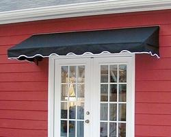 fixed window awning