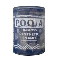 POOJA High Gloss Enamel Paint, Packaging Type: Tin, Packaging Size: 20 Ltr
