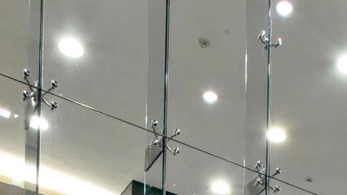 Spider Connection Glass : Stainless steel spider glass fitting work at rs