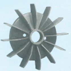 Plastic Fan Suitable For GEC 132 Frame Size