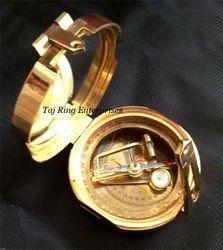 Nautical Brunton Compass
