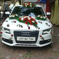 Wedding car decoration in india wedding cars junglespirit Choice Image
