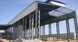 Pre Fabricated Ware House Construction