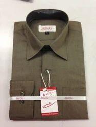 Cotton/Linen Men Formal Shirt