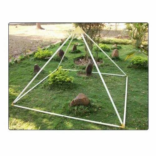 Aluminum Meditation Pyramids - View Specifications & Details