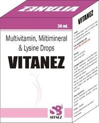Multivitamin & Lysine Drops