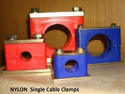 Single PP Pipe Tube Cable Clamp