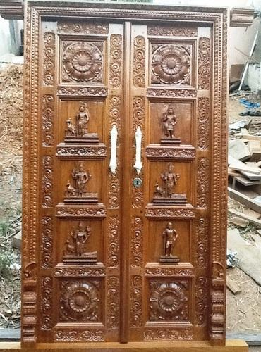 40 Door Design For Mandir Important Ideas: Mandir Door Design & MANDIR (HOUSE TEMPLE) Design Ideas