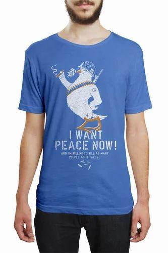 39cece951 Captain KYSO, Kolkata - Manufacturer of The Tenacious Tinman White T-Shirt  and No Signal Sky Blue T Shirt