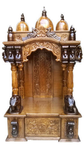 High Quality Wooden Temples, Wooden Furniture, Wooden Hindu Temple