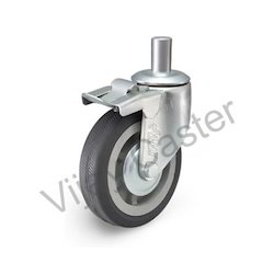Brake Caster Wheel, Size: 75 Mm To 200 Mm