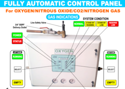 Fully Automatic Gas Control Panel