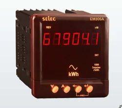 Selec EM-306 Digital Kilowatt Meters Energy Meter