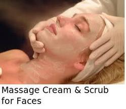 Massage Cream & Scrub for Faces