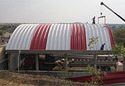 K- Span Factory Roofing Sheets